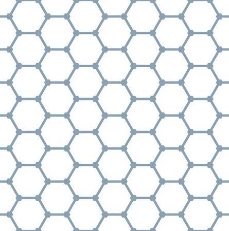 원활한 육각형 패턴입니다. 형상 텍스처입니다. 벡터 아트입니다.