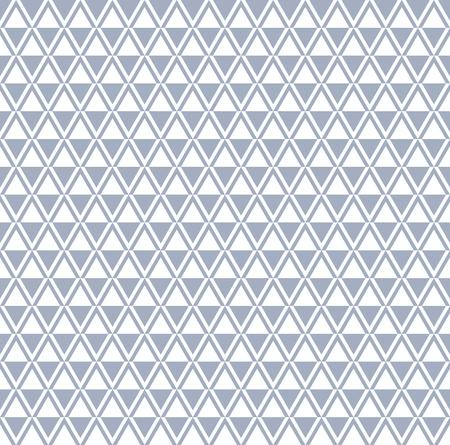 원활한 다이아몬드와 삼각형 패턴입니다. 벡터 일러스트 레이 션.