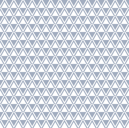 Seamless diamonds and triangle pattern. Vector illustration. Illustration