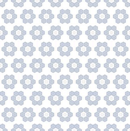 원활한 육각형 패턴입니다. 벡터 아트입니다. 일러스트