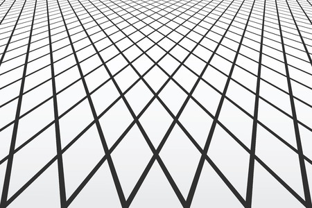 Lines and diamonds pattern.