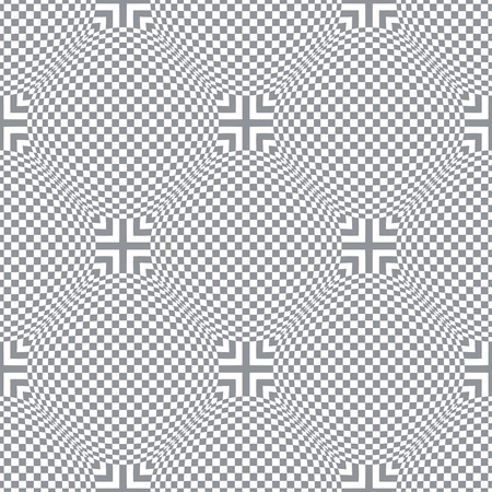 Seamless diagonal checked pattern Vector art. 向量圖像