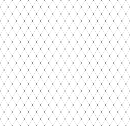 latticed: Seamless geometric diamonds pattern. Mesh texture. Vector art.