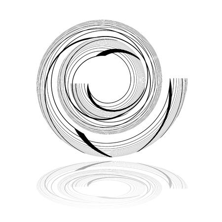 twist: Spiral design element.