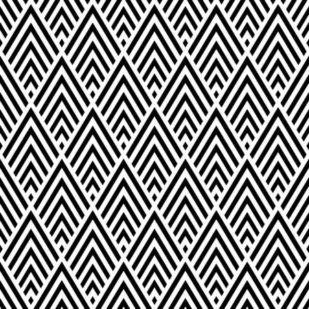 Seamless diamonds geometric pattern. Vector art. 일러스트