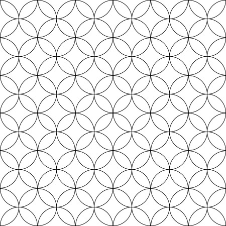 Seamless geometric pattern. Vector art. Stock fotó - 90426422