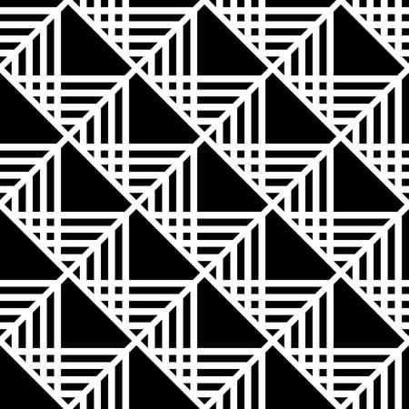 원활한 체크 패턴입니다. 형상 텍스처입니다. 벡터 아트입니다.