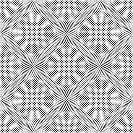 원활한 둥근 된 3D 패턴입니다. 볼록한 네팅 텍스처. 일러스트
