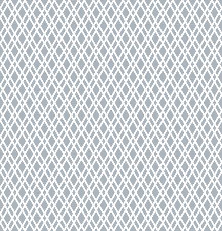 Seamless diamonds pattern. Geometric latticed texture. Vector art.