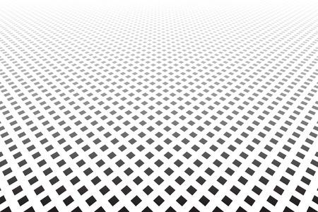 Os pontos texture a arte de diminuição do vetor da opinião de perspectiva. Foto de archivo - 93765948