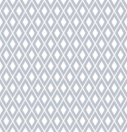 Seamless diamonds pattern. Geometric texture Vector art. Illustration