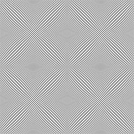 Seamless pattern. 3D convex netting texture. Vector art.