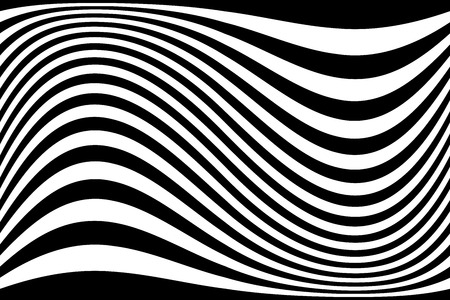 Abstract wavy lines background. Vector art.