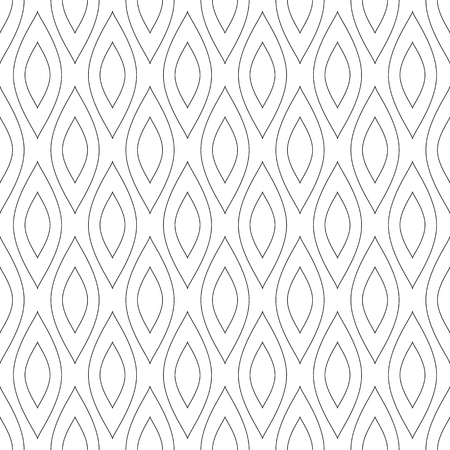 Seamless pattern in abstract geometric texture. Vector art.