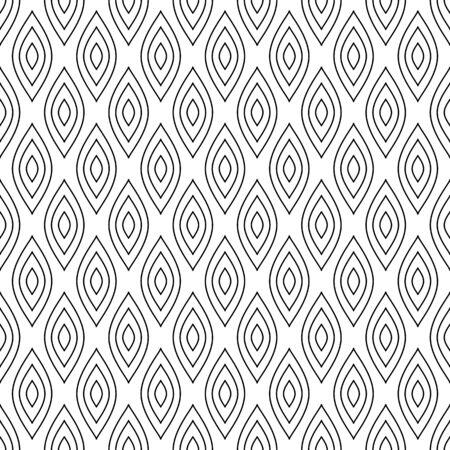 A Seamless pattern. Abstract geometric texture. Vector art.