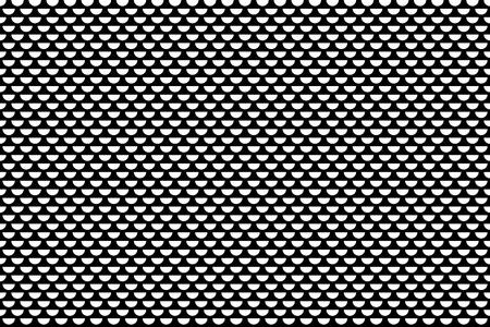 Half circles pattern. Seamless texture. 일러스트