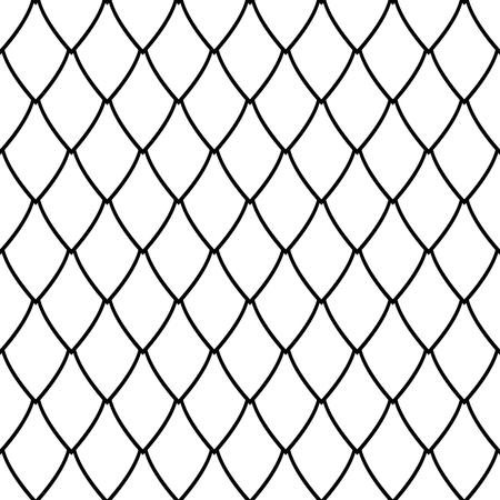 Seamless net pattern. Geometric latticed texture. Vector art. Illustration