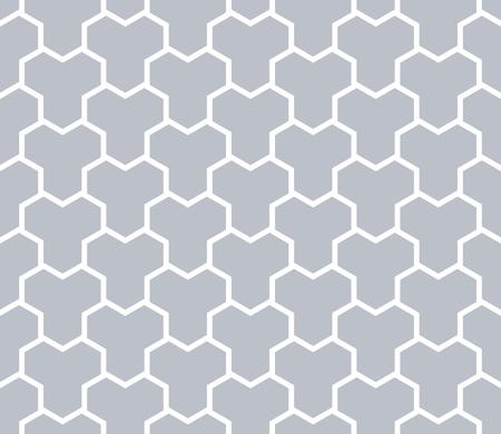 Seamless monochrome geometric polygonal pattern. Vector art. 일러스트