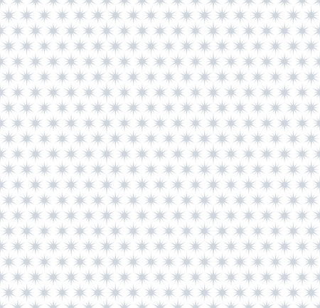 Seamless stars pattern. Background and texture. Vector art.