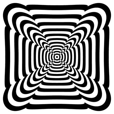 Abstract design element. Vector art. Illustration
