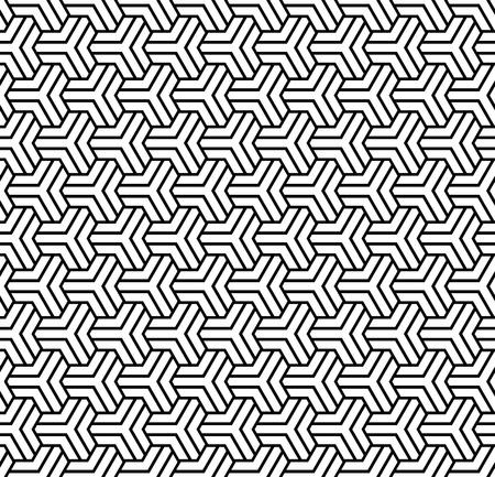 Seamless  polygonal pattern. Geometric texture. Vector art.