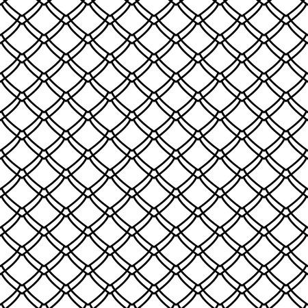 Seamless pattern. Fish scale motif. Vector art.