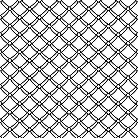 Seamless pattern. Fish scale motif. Vector art.