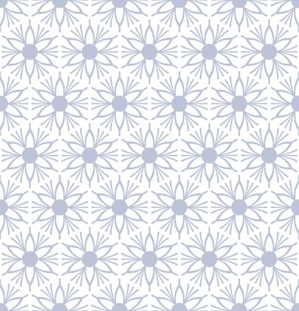 Seamless floral pattern. Vector art.