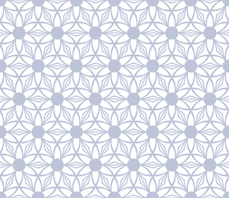 Seamless floral pattern. Vector art.