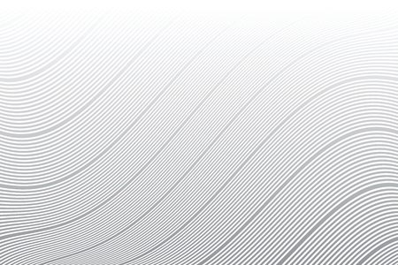 Wavy lines texture. Striped background. Vector art.