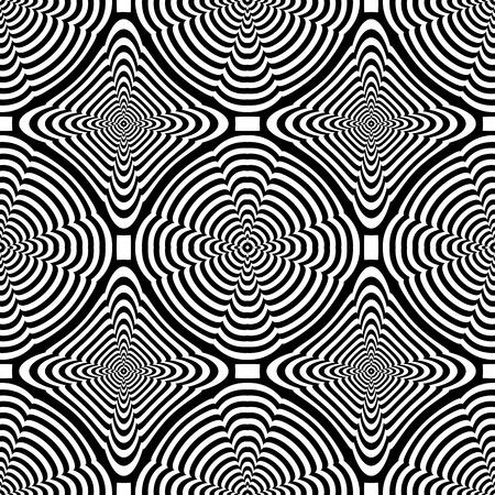 Seamless geometric pattern. Lines texture. Vector art.
