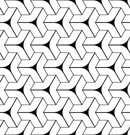 Seamless geometric isometric pattern. 3D illusion. Vector art.