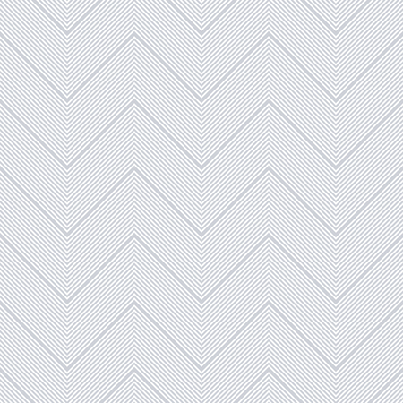 Seamless chevron pattern. Zigzag pinstripe lines texture. Vector art.  イラスト・ベクター素材
