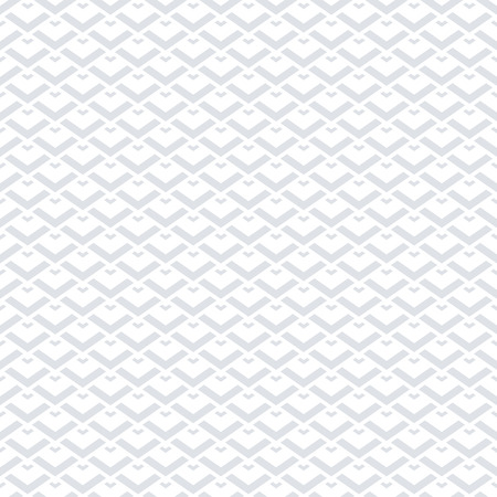 Seamless geometric pattern. White background and texture. Vector art.
