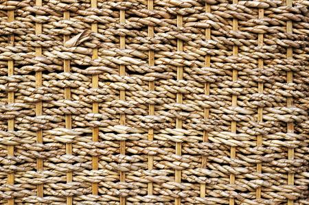 Wicker basket pattern. Textured background.