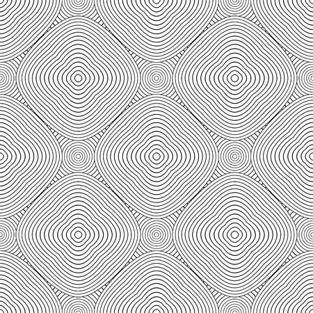 Seamless diagonal geometric pattern. Lines texture on white background. Vector art.