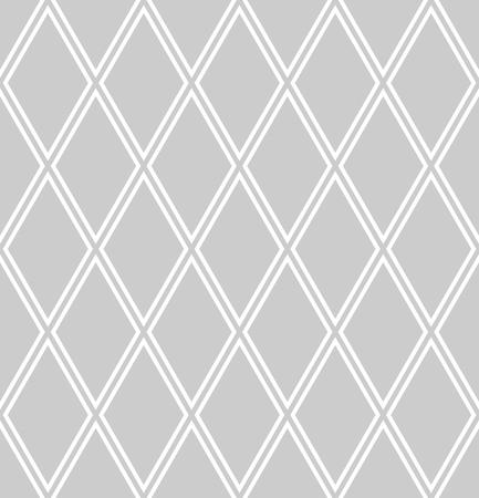 Seamless diamonds pattern. Geomrtric texture. Vector art.