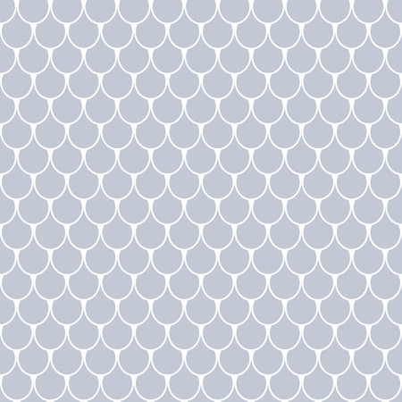 Seamless fish scale pattern. Vector art.