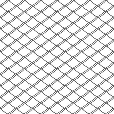 Seamless pattern. Lattice mesh netting texture. Vector art. Vecteurs