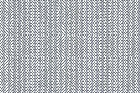Seamless diamonds and zigzag pattern. Geometric 3d  texture. Illustration.