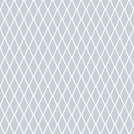 Seamless diamonds pattern. Net texture. Vector art.