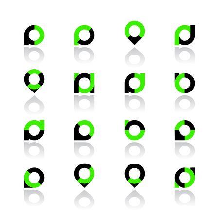 Set of elements for design. Vector illustration. Ilustracja