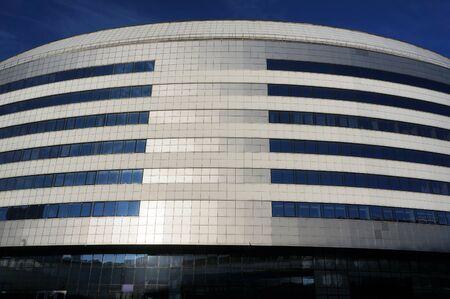 Minsk, Belarus - January 03, 2020: The main building of Minsk Arena sport complex. Redakční