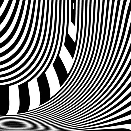 Abstract design. Lines pattern and texture. Vector art.