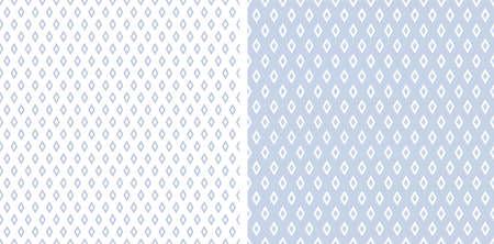 Abstract seamless geometric diamonds patterns. Vector art. Vector Illustration