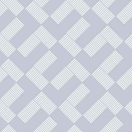 Abstract seamless geometric lines pattern. Vector art. Illustration