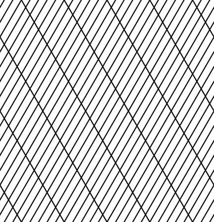 Abstract seamless geometric striped lines grid pattern and texture. Vector art.