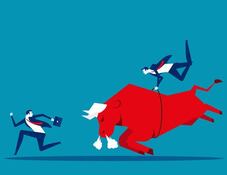 Inflation making any impact on savings and investments. Concept bsuiness inflation and tases vector illustration, Finance and Economy Ilustrace