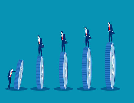 Crisis could lead to a domino effect. Business chain reaction