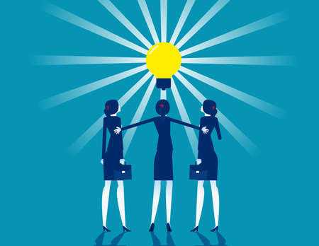 Cooperation to create new things Make the light bulb brighter